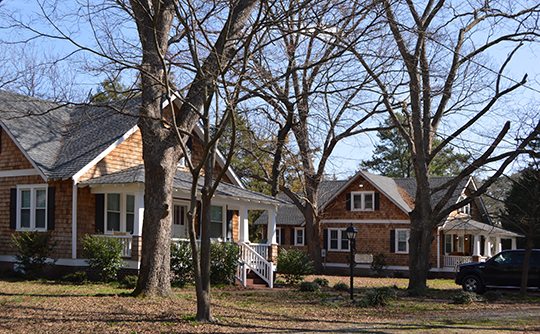 Homes on Seneca Avenue, Oaklette Historic District, Chesapeake, VA, National Regsiter