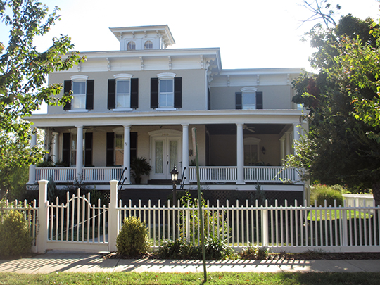 Elmhurst, ca. 1871, 2010 Fall Hill Avenue, Fredericksburg, VA, National Register