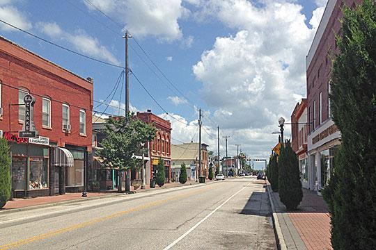 East Mellen Street, Phoebus Historic District, Hampton, VA.