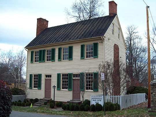 Miller-Claytor House, ca. 1791, Treasure Island Road at Miller-Claytor Lane, Lynchburg, VA, National Register