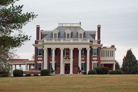 Villa Marie, ca. 1911, Rivermont Avenue, Rivermont Historic District, Lynchburg, VA, National Register