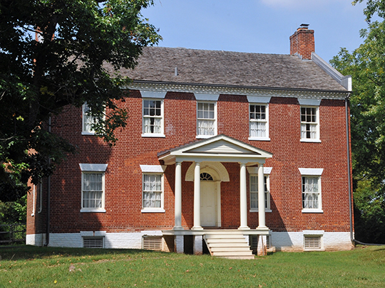 Liberia, ca. 1825, 8601 Portner Avenue, Manassas, VA, National Register