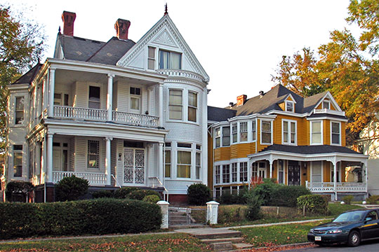 Residences, Chestnut Hill-Plateau Historic District, Richmond, VA, National Register