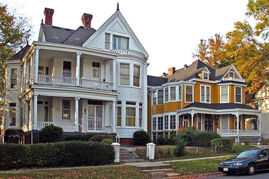 Residences, Chestnut Hill-Plateau Historic District, Richmond, VA, National Register
