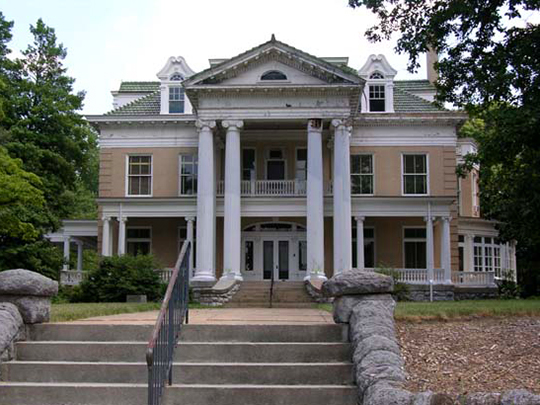 Mountain View, Fishburn Mansion, ca. 1907, 714 13th Street, SW, Roanoke, VA, National Register
