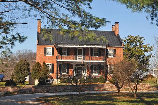 Rose Hill Farm, ca. 1820, U.S. Route 50, Upperville, VA, National Register