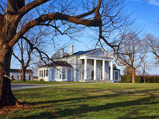 Westend (Main House), ca. 1849, Route 638, Green Springs Historic District, Trevilians, Louisa County, VA, National Register, Historic American Buildings Survey