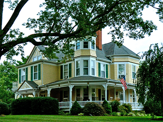 The Oaks, ca. 1893, 311 East Main Street, Christianburg, VA, National Register