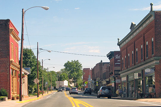 South Main Street, Gordonsville, Orange County, VA