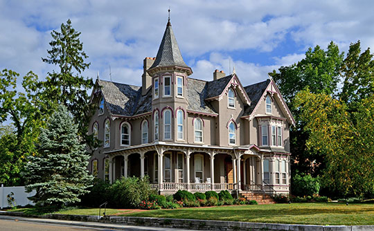 Joshua Wilton House, ca. 1890, 412 South Main Street, Harrisonburg, VA, National Register