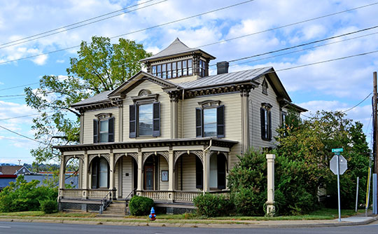 Anthony Hockman House, ca. 1871, East Market and Broad Streets, Harrisonburg, VA, National Register