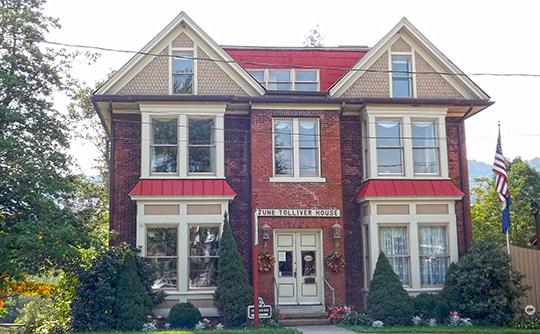 June Tolliver House, ca. 1890, Route 613, Big Stone Gap, VA, National Registert