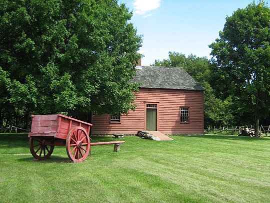 Ethan Allen Homestead in Burlington, Vermont