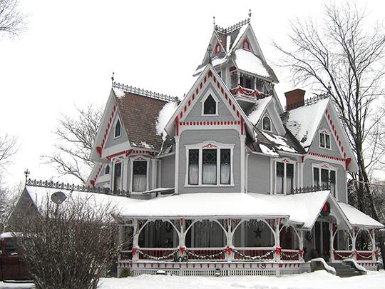 Sheldon Boright House, 122 River Street, Richford, VT
