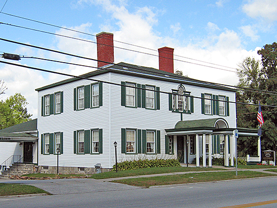Houghton House, St Albans, VT, National Register