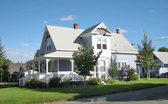 Home in the Cottage Avenue Historic District, Cashmere, WA, National Register