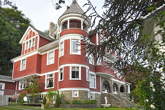 Hoquiams Castle, ca. 1897, 515 Chenault Avenue, Hoquiam, WA, National Register