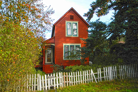 House at 1070 Tremont Street, ca. 1896, Port Townsend, WA, National Register