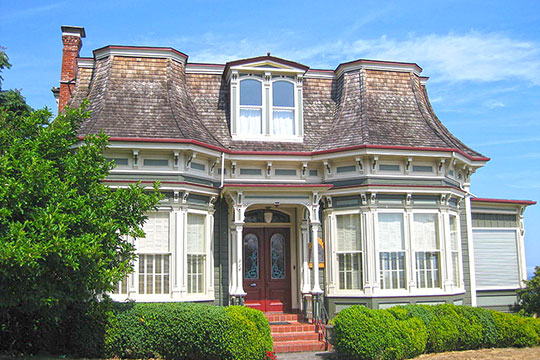 Frank Bartlett House, ca. 1883, 314 Polk Street, Port Townsend, WA, National Register
