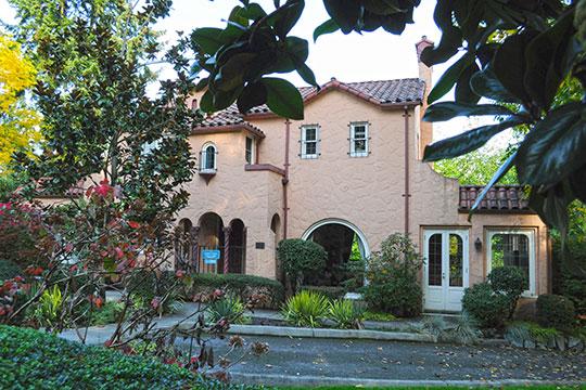 Frederick W. Winters House, ca. 1929, 2102 Bellevue Way SE, Bellevue, WA, National Register