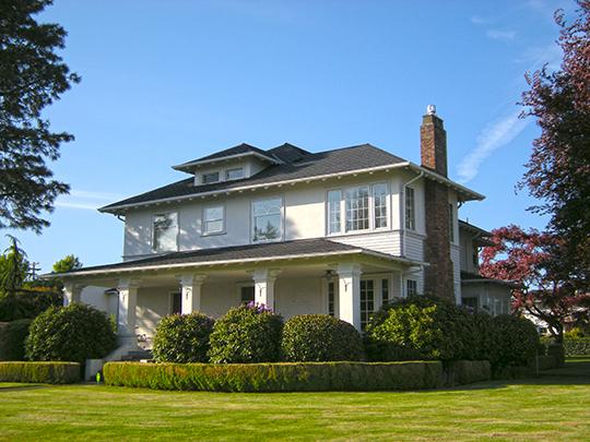 Louis and Ellen Olson House, ca. 1903, 1513 Griffin Avenue, Enumclaw, WA, National Register