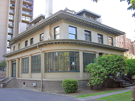 Henry H. Dearborn House (the Seattle Dearborn House), ca. 1907, 1117 Minor Ave., Seattle, Washington