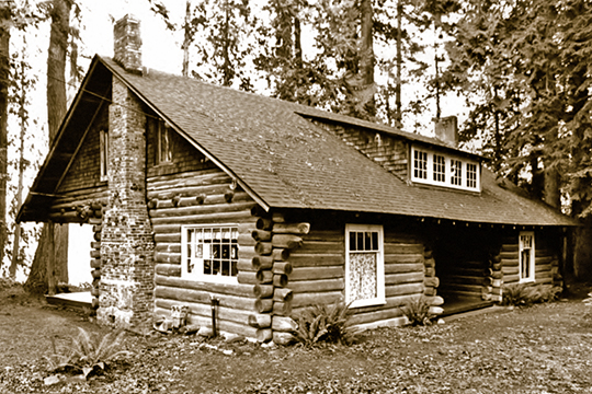 Shelbanks (Kean Cabin), ca. 1906, 1520 Shorewood Drive, Bremerton, WA, National Register