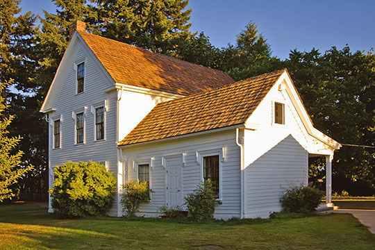 Joseph Borst House, ca. 1857, 302 Bryden Avenue, Centralia, WA, National Register
