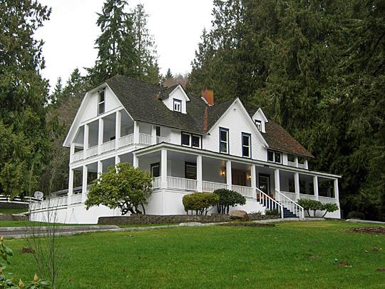 The Ashford Mansion in Ashford, Washington, USA