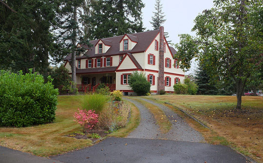 John Galbraith House, ca. 1925, 140 Oak Street East, Eatonville, WA, National Register