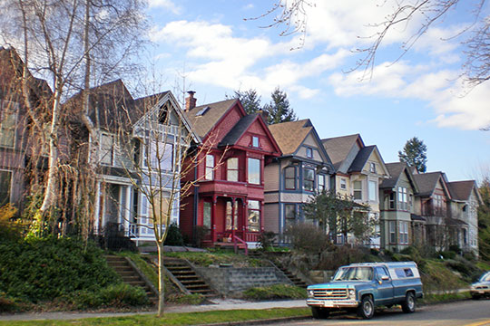Homes in the South J Street Historic District, Tacoma, WA, National Register