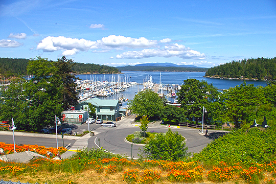 Friday Harbor, Washington, County Seat, San Juan County, Harbor View