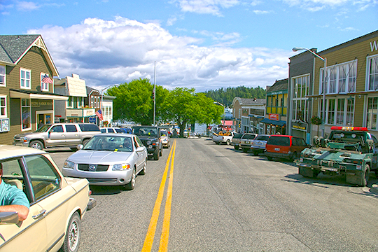Friday Harbor, Washington, County Seat, San Juan County, Spring Street