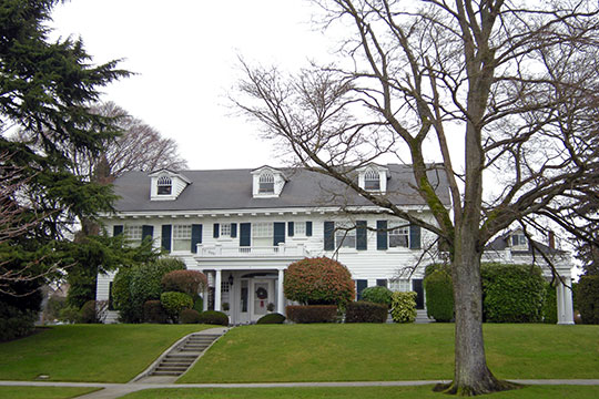 Butler-Jackson House, ca. 1910, 1703 Grand Avenue, Everett, WA, National Register