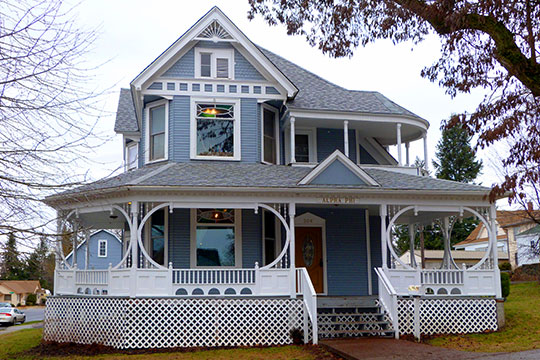 David Lowe House, ca. 1904, 306 F Street, Cheney, WA, National Register