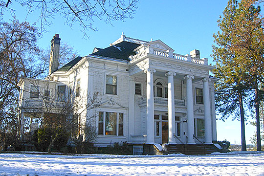 Finch House, ca. 1897, West 1st Avenue and South Poplar Street, Spokane, WA, National Register