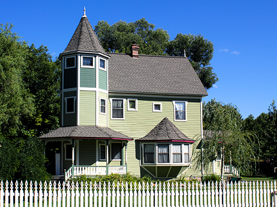 Colburn T. Winslow House, ca. 1909, 458 East 2nd Street, Colville, WA, National Register