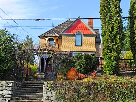 Funk House, ca. 1906, 1202 Olympia Avenue NE, Olympia, WA, National Register