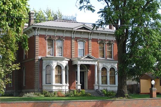 Kirkman House, ca. 1876, 214 North Colville Street, Walla Walla, Washington, National Register