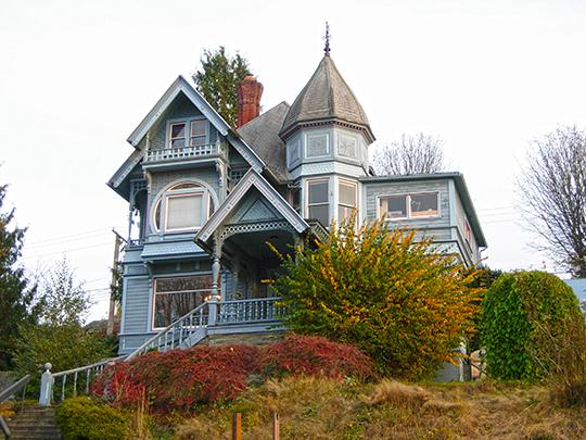 Robert I. Morse House, ca. 1896, 1014 North Garden Street, Bellingham, WA, National Register