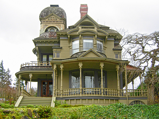Gamwell House, ca. 1890, 1001 16th Street, Bellingham Washington, National Register