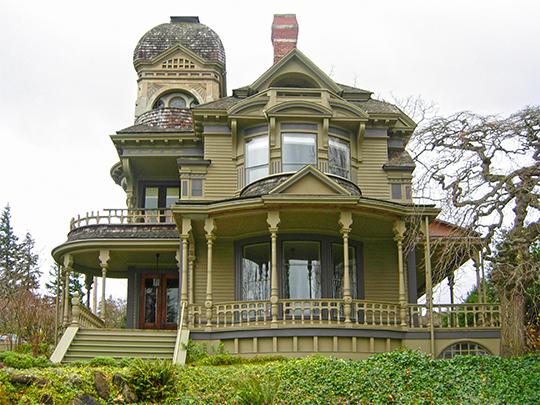 Gamwell House, ca. 1890, 1001 16th Street, Bellingham Washington, National Register