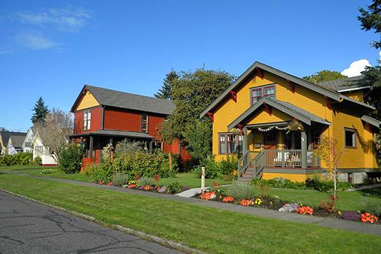 Homes in the Eldridge Avenue Historic District, Bellingham, WA, National Register