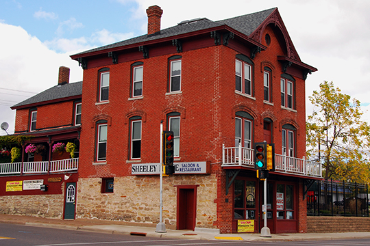 Sheeley House, ca. 1884, 236 West River Street, Chippewa Falls, WI, National Register