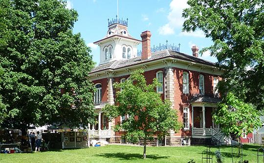 Cook-Rutledge House, ca. 1873, 505 W. Grand Avenue, Chippewa Falls, WI, National Register