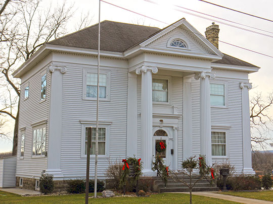 Zona Gale House, ca. 1906, 506 West Edgewater Street, Portage, WI, National Register