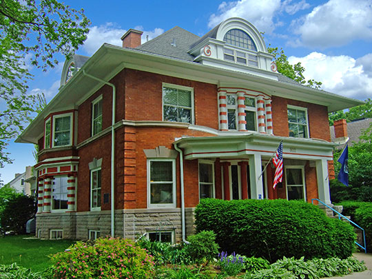 Adolph H. Kayser House, ca. 1902, 802 E. Gorham Street, Madison, WI, National Register