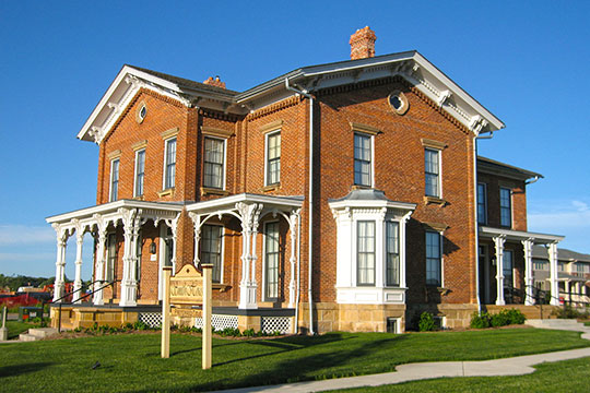 Adam and Mary Smith House, ca. 1872, Sun Prairie, WI, National Register