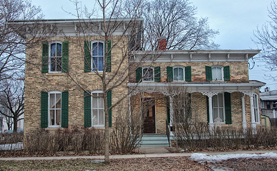 Francis West Smith House, ca. 1877, 1002 West 2nd Avenue Brodhead, Wisconsin, National Register