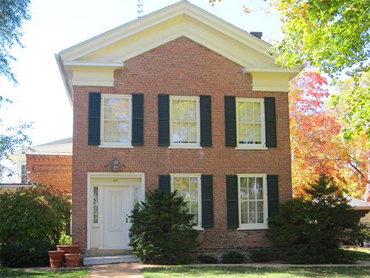 Judge John A. Bingham House, ca. 1850, 621 14th Avenue, Monroe, WI, National Register